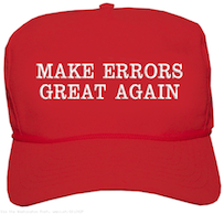 make application errors great again